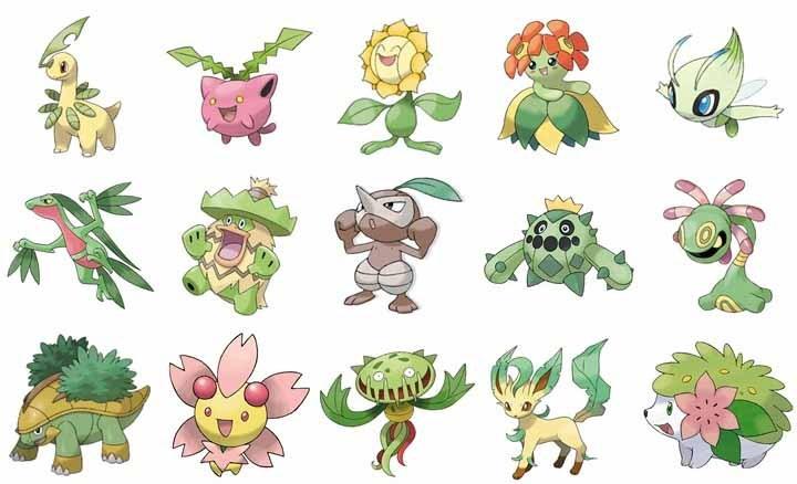 5-Best-Grass-type-Pokemon