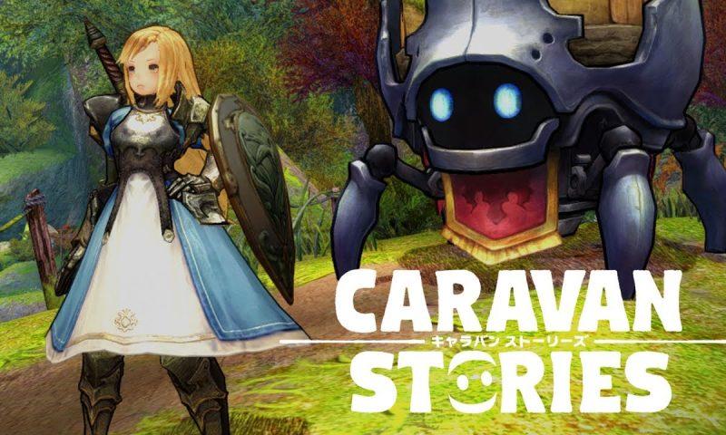 Caravan Stories เกมอนิเมะ MMORPG ระบบสุดเจ๋งกราฟิกอย่างเฟี้ยว