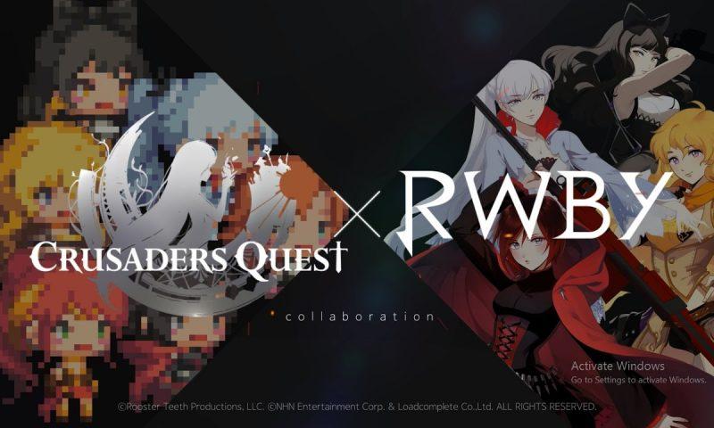 ฟินX2 ฮีโร่ Crusaders Quest ปะทะนักล่าอสูรจาก RWBY: Grimm Eclipse