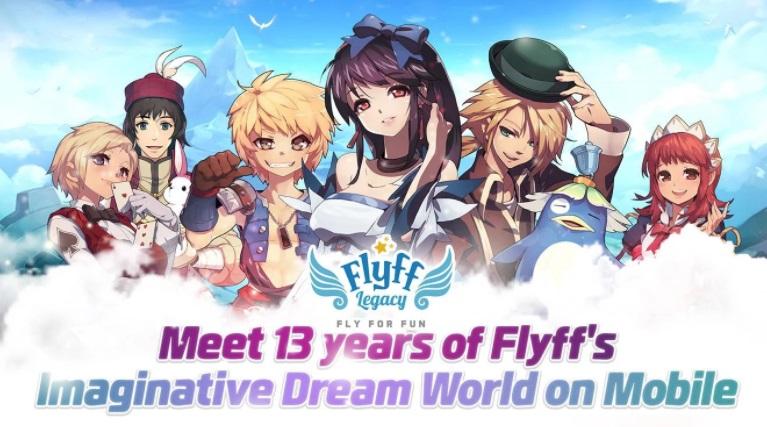 Flyff Legacy เกมมือถือสายปีกเวอร์ชั่น Eng มาแล้ว