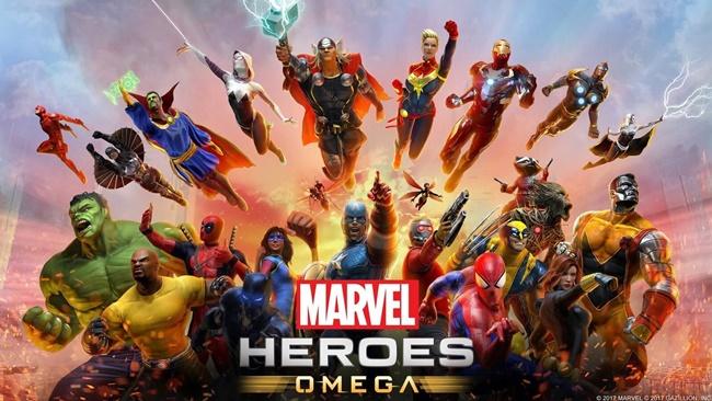 Marvel Heroes Omega11517-1