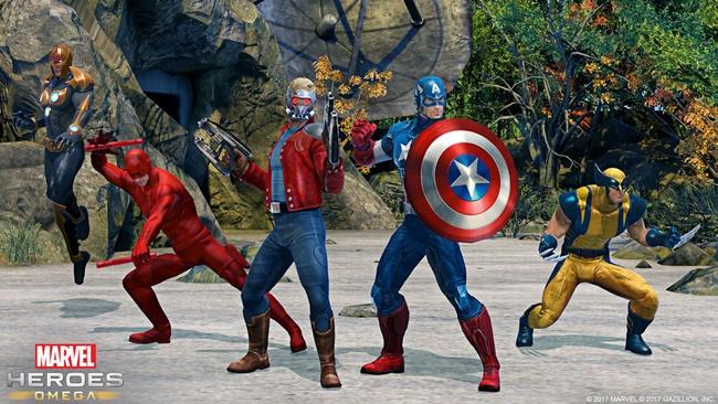 Marvel Heroes Omega11517-2