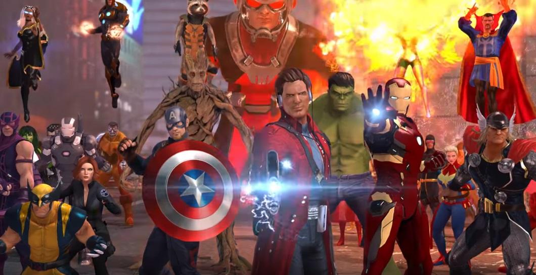 Marvel Heroes Omega11517-4