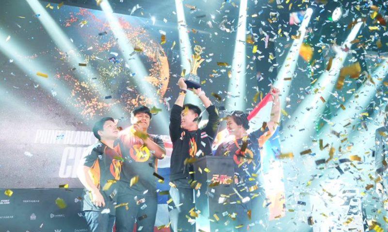 ทีมไทย คว้าแชมป์ PBWC 2017 งานแข่งขัน eSports ระดับโลกได้สำเร็จ