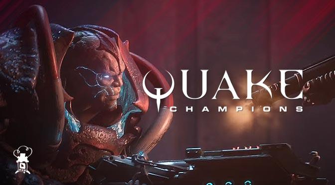 Quake Champions เปิด Alpha ท้ายิงแหลก เลือดกระจาย