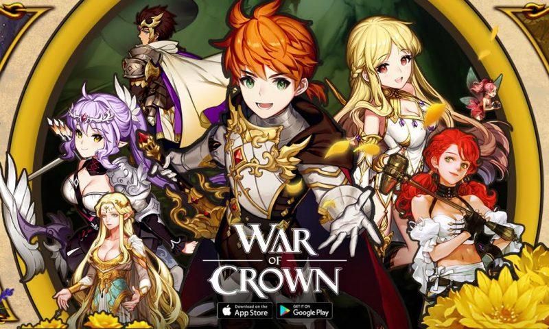 War of Crown เกมมือถือสายกลยุทธ์ขนานแท้