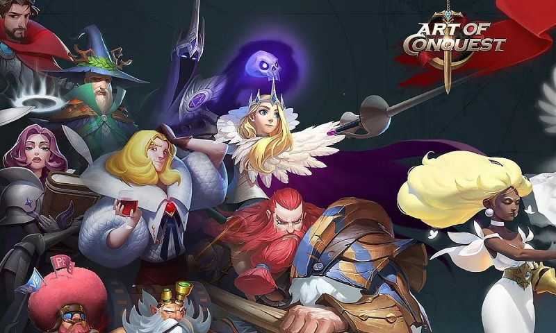 Art Of Conquest เกมมือถือ MMORTS ใหม่จากผู้สร้าง Dot Arena
