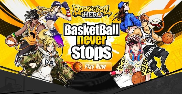 Basketball Hero ศึกกีฬายัดห่วง พร้อมให้มันส์บน Android แล้ว