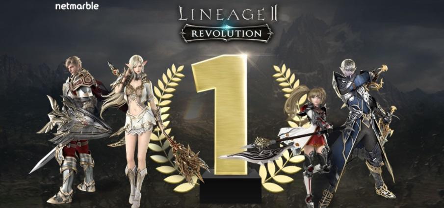 Lineage 2 Revolution แรงต่อเนื่องคว้าสถิติอันดับ 1 สโตร์ไทย ทั้ง 2 เวอร์ชั่น