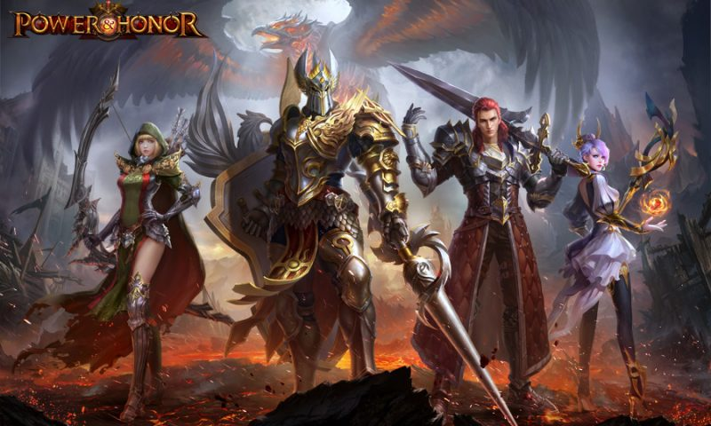 Power and Honor เกมมือถือ MMO งัดคลิป 4 อาชีพหลักมาเรียกแขก
