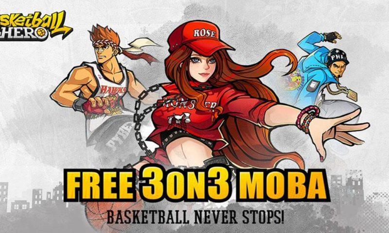 Basketball Hero สังเวียนกีฬายัดห่วง มาให้มันส์บนสโตร์ iOS แล้วจ้า