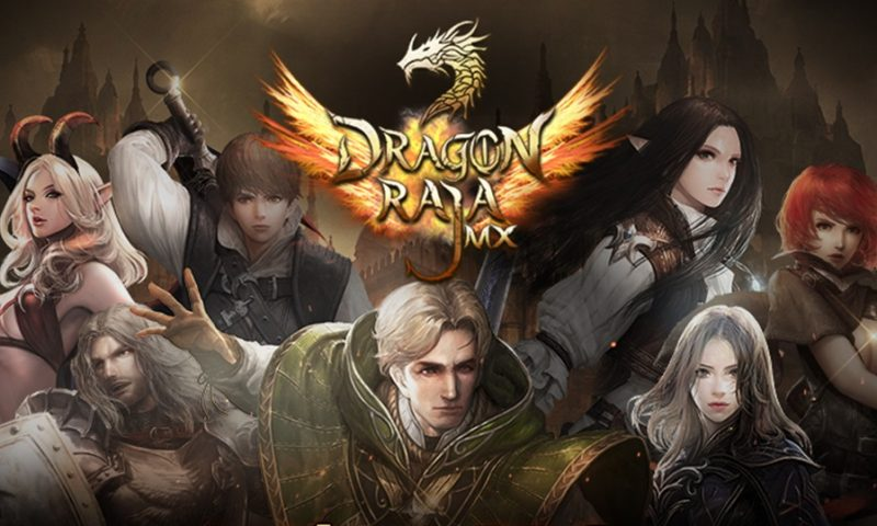 Dragon Raja MX ตำนานเกม RPG สายพันธุ์มังกร จ่อบู๊เร็วๆ นี้