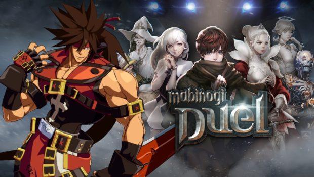 Mabinogi Duel x Guilty Gear cover