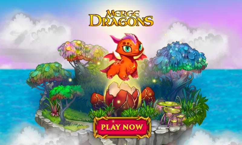 Merge Dragons เกมเลี้ยงมังกรแนวเรียงเพชรสุดชิล ลงสโตร์แล้วจ้า