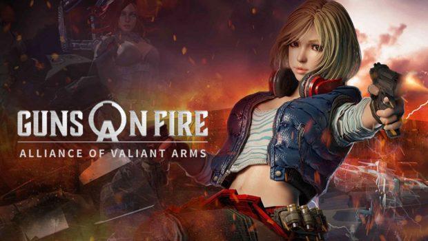 ค่ายเป็ดแดงชวนหัวร้อนกับเกมใหม่  A.V.A: Guns on Fire