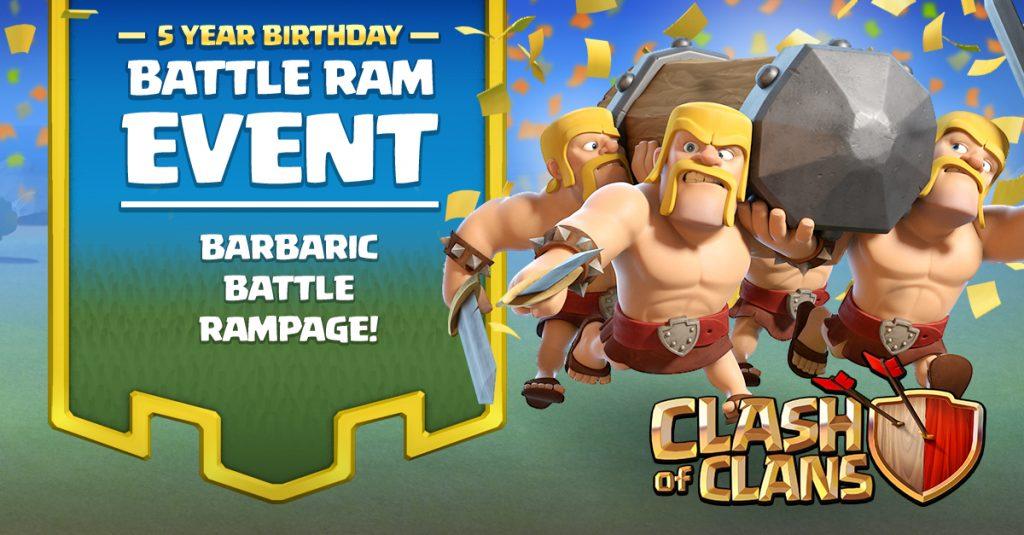 Clash of Clans Battle Ram 02
