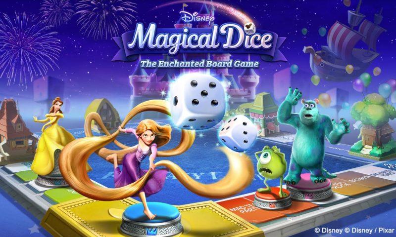 Disney Magical Dice เกมมือถือสไตล์ Board Game จากเน็ตมาร์เบิ้ล