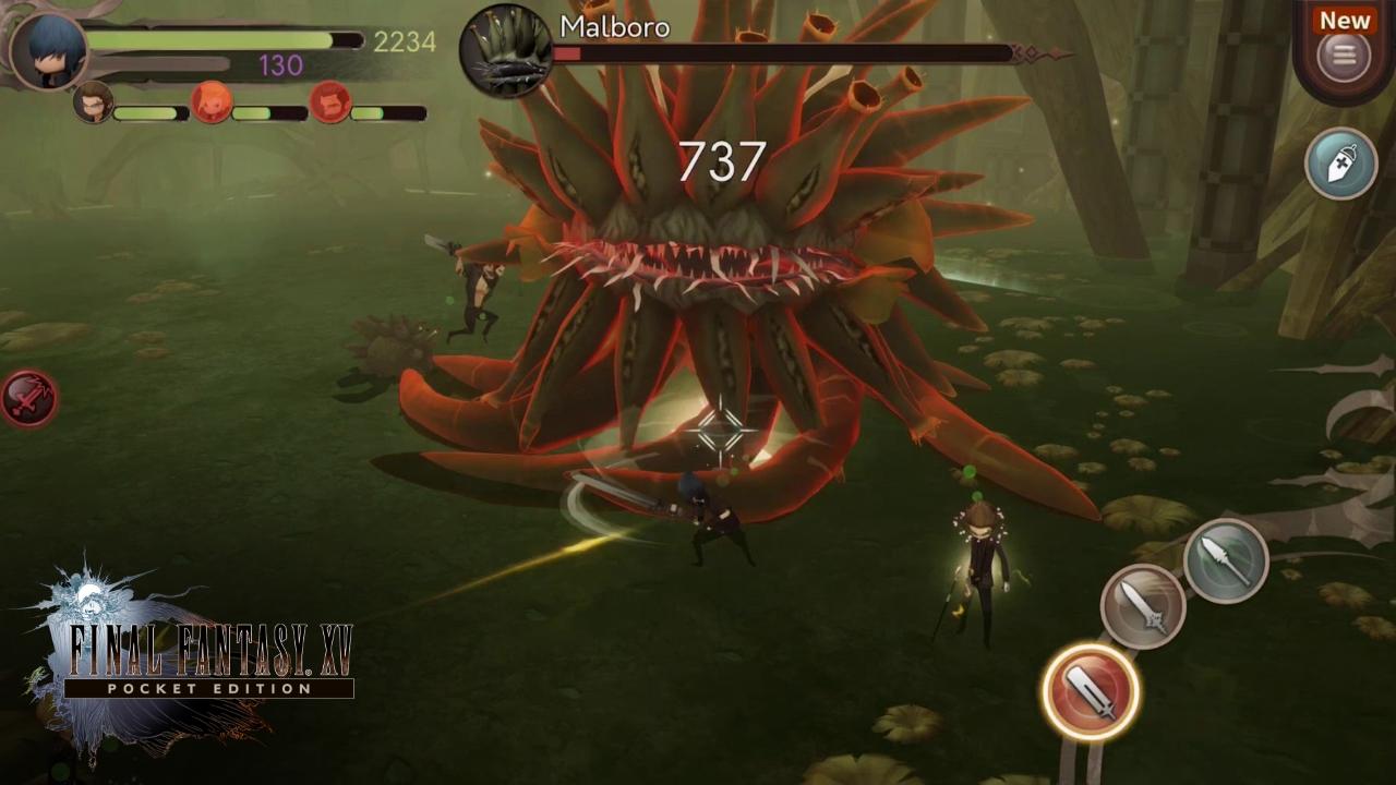 Final Fantasy XV Pocket Edition 01