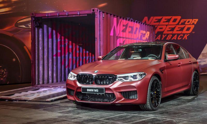 มีอึ้ง Need for Speed เปิดตัวซีดานหรูสุดสปอร์ต BMW M5 ตัวเป็นๆ