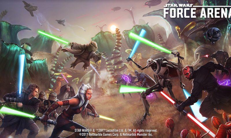 Star Wars™: Force Arena อัพ 16 ตัวละครดัง และเนื้อหาภาคต่อ