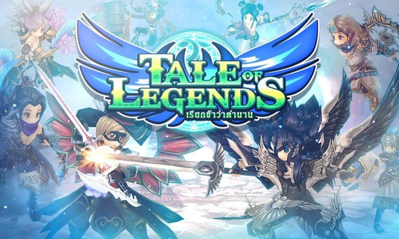 โหลดเลย Tale of Legends ศึกรวมฮีโร่ เกม RPG สุดมันส์ที่ไม่ควรพลาด