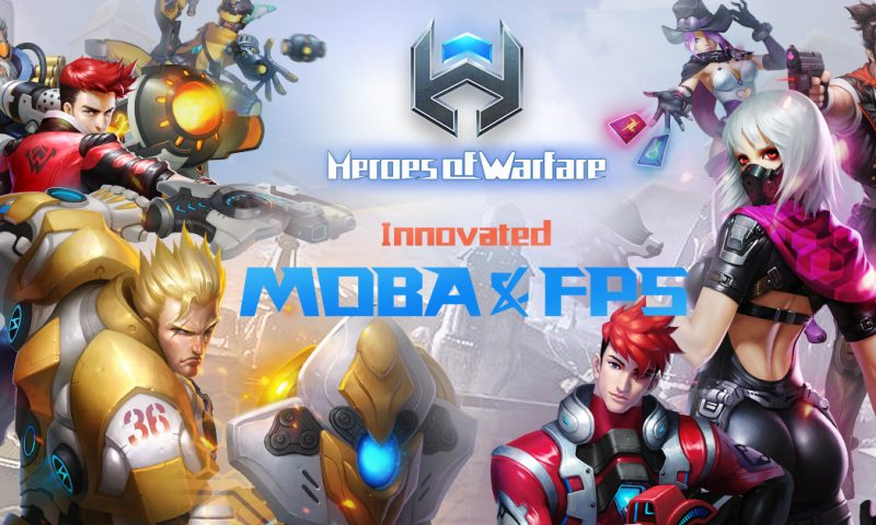 Heroes Of Warfare นี่มัน Overwatch มือถือชัดๆ พร้อมเปิด Pre-Register