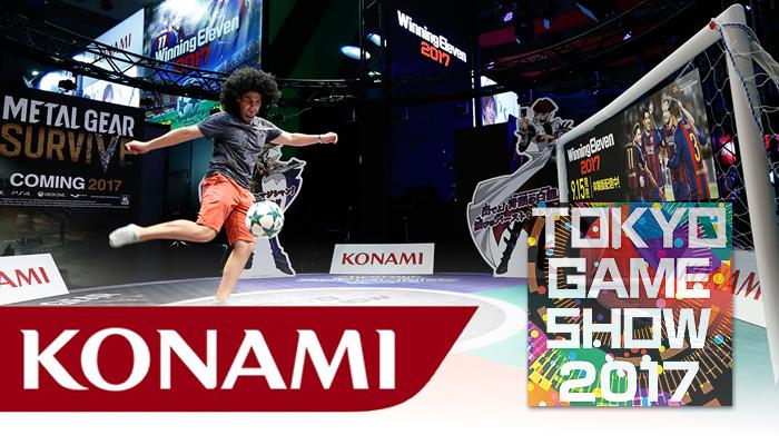Konami เผยไลน์อัพเกมออกบู้ธงาน Tokyo Game Show 2017