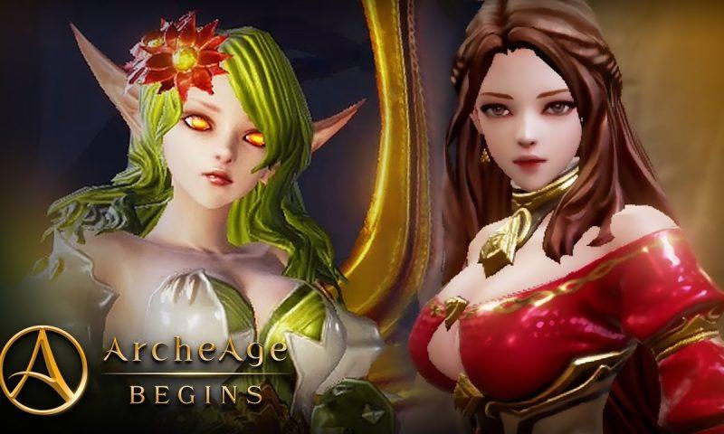 ArcheAge Begins กำเนิดใหม่ ArcheAge บนมือถือ เปิดให้เล่นแล้วจ้า