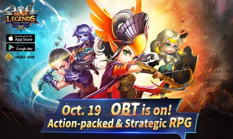 Brave Legends เปิด OBT  19 ต.ค. พร้อมกันทั้ง Android และ iOS