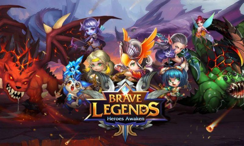 Brave Legends: Heroes Awaken แรงดีได้ 4.7 คะแนนสโตร์ Google Play