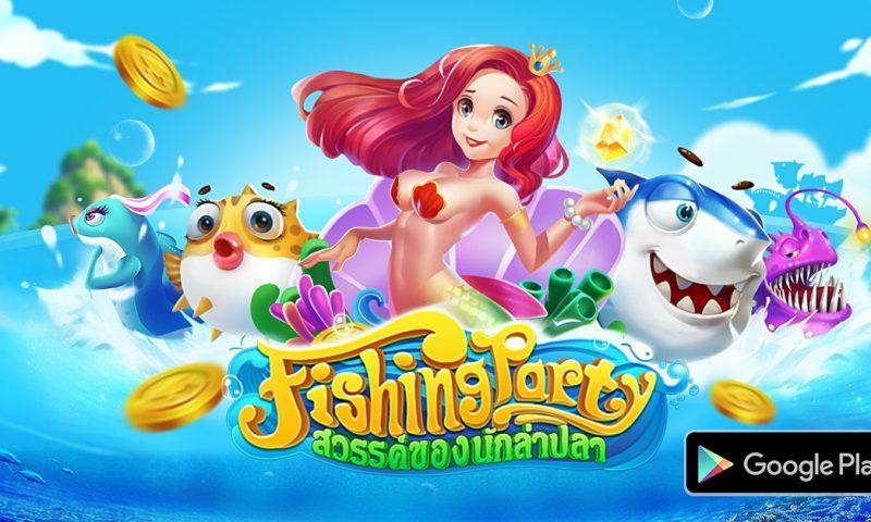 Fishing Party สวรรค์ของนักล่าปลา ลงสโตร์ Android พรุ่งนี้
