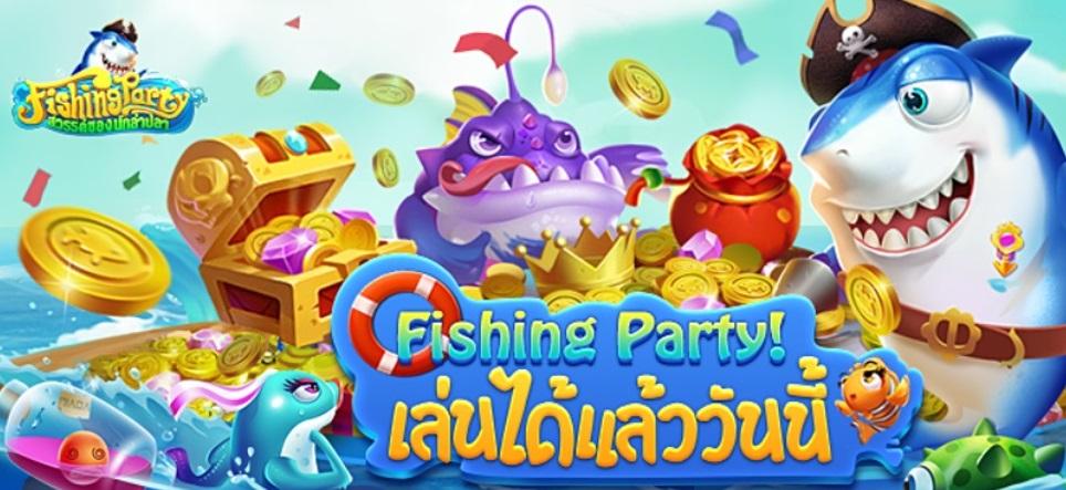 Fishing Party สวรรค์ของนักล่าปลา ติดโผเกมมาแรง Google Play Store