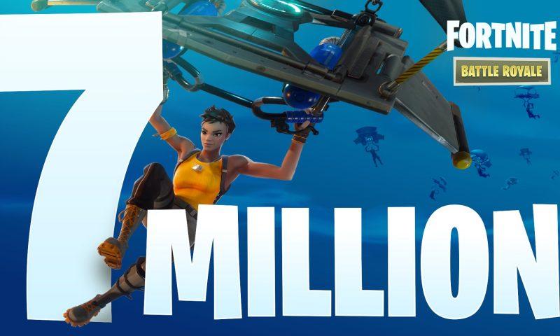 Fortnite ยอดผู้เล่นทะลุ 7 ล้านคน ต้องขอบคุณโหมด Battle Royale