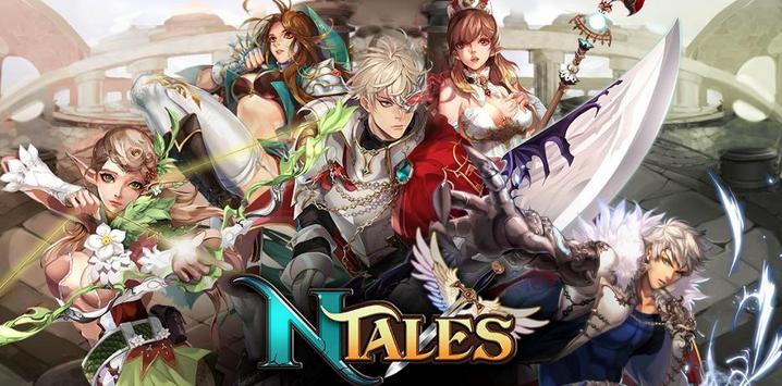ไม่ธรรมดา NTales: Child of Destiny ขึ้นหน้าเกมกระแสแรง Google Play