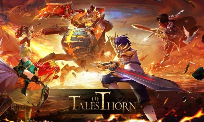 ของแรง Tales of Thorn (ToT) ขึ้นหน้าเกมแนะนำ Google Play
