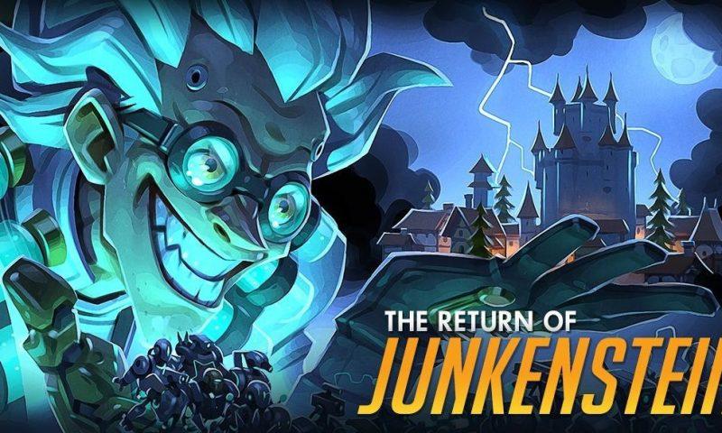 Overwatch ปล่อยคอมมิคสุดคูลตอน The Return of Junkenstein