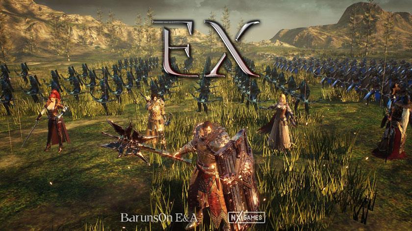 มาใหม่ Project EX โคตรเกมสงคราม MMO กราฟิกแรงสายพันธุ์เกาหลี