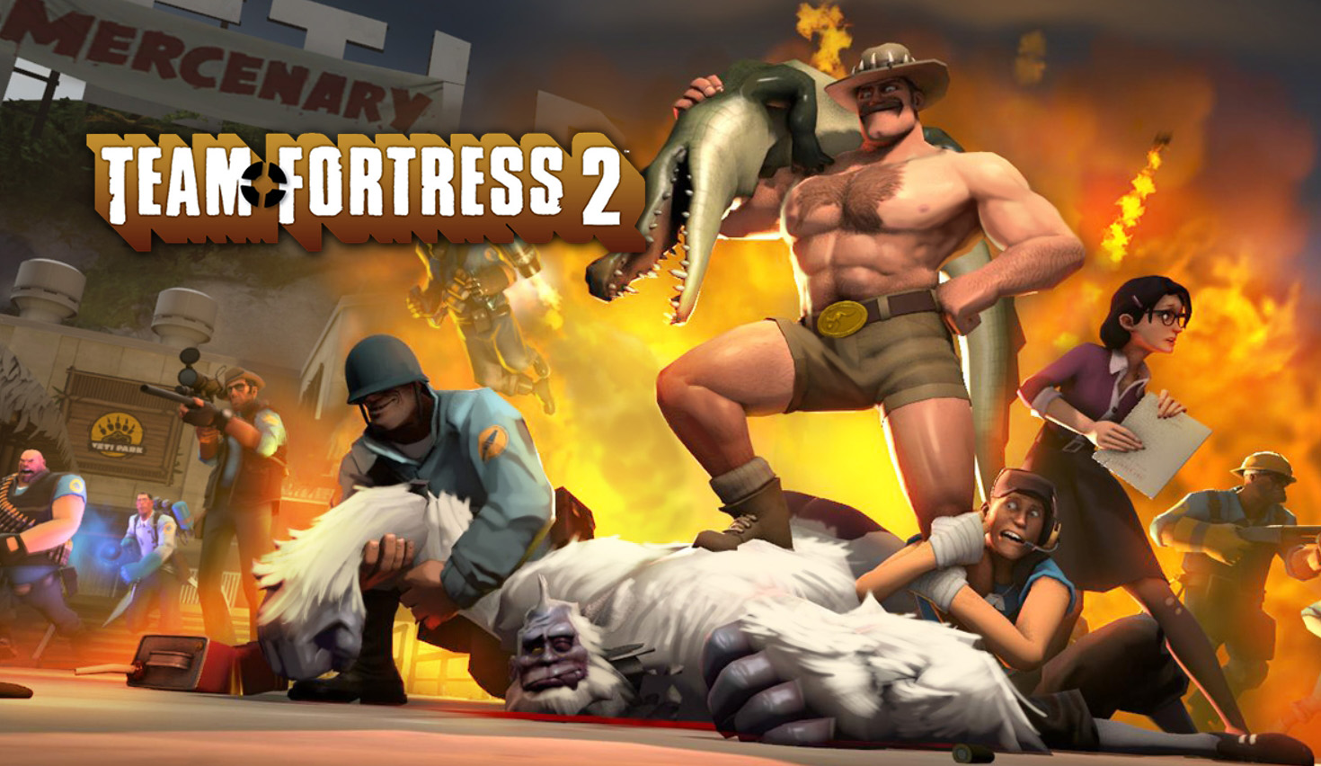 Fortress 2 MMOFPS Valve Inferno