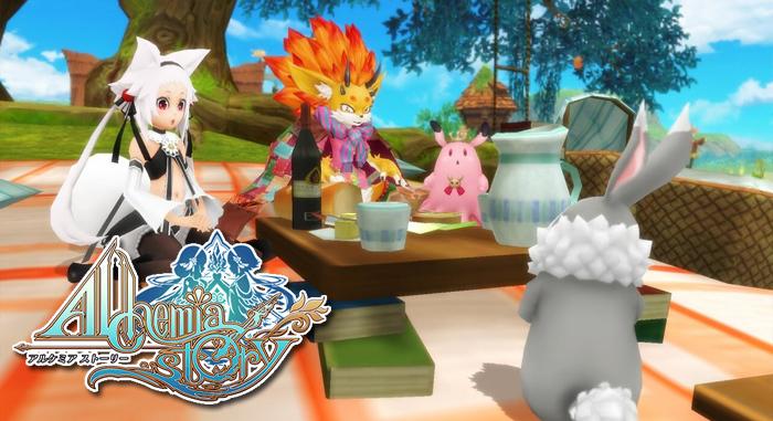 พร้อมมั้ย Alchemia Story เกมอนิเมะสายซัมมอนจาก Asobimo ลงสโตร์วันนี้