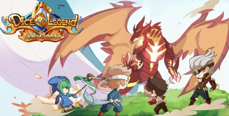 Dice Legend เกมมือถือแนวบันไดงู ฝีมือคนไทย