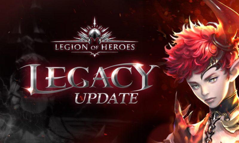 Legion of Heroes อัพเดทใหญ่ ปลดล็อคโหมด Normal และ Hard