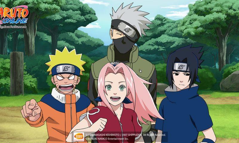 Naruto Online เวอร์ชั่นไทย แนะนำตัวละครทีม 7 แห่งโคโนะฮะ