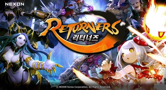 ลองยัง Returners เกมมือถือ RPG สายดวล 5v5 ยี่ห้อ Nexon