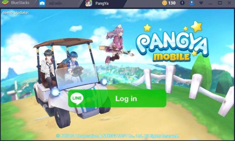 วิธีเล่น LINE PANGYA บน PC และวิธีแก้ปัญหาจอดำบนมือถือ