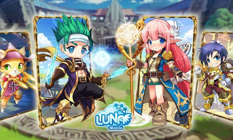 การผจญภัยเริ่ม Luna Mobile (ENG) เปิดให้เล่นแล้ววันนี้