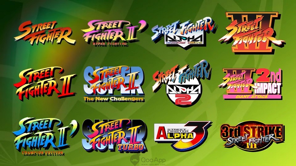 Street Fighter 30 collection 00