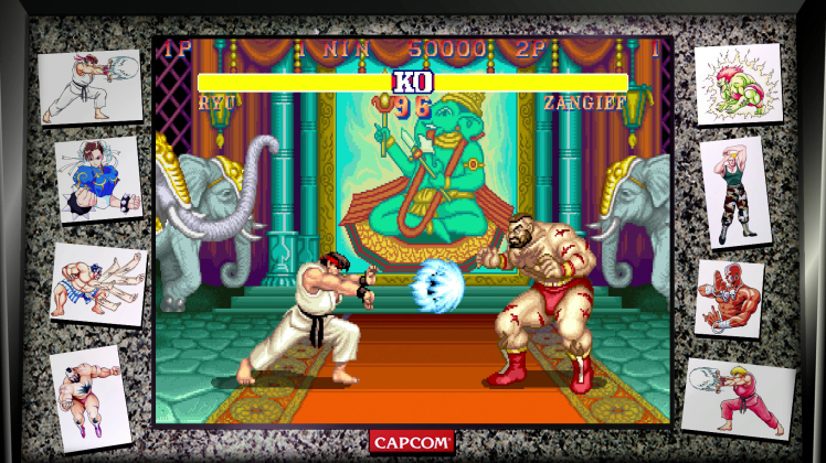 Street Fighter 30 collection 01