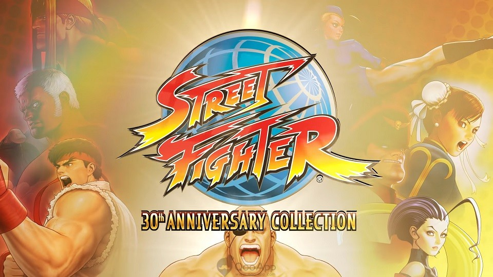Street Fighter 30 collection