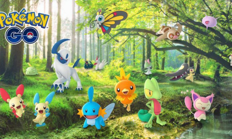 Pokemon Go อัพเดทโปเกม่อนเจน 3 พร้อมระบบสภาพอากาศเรียลไทม์