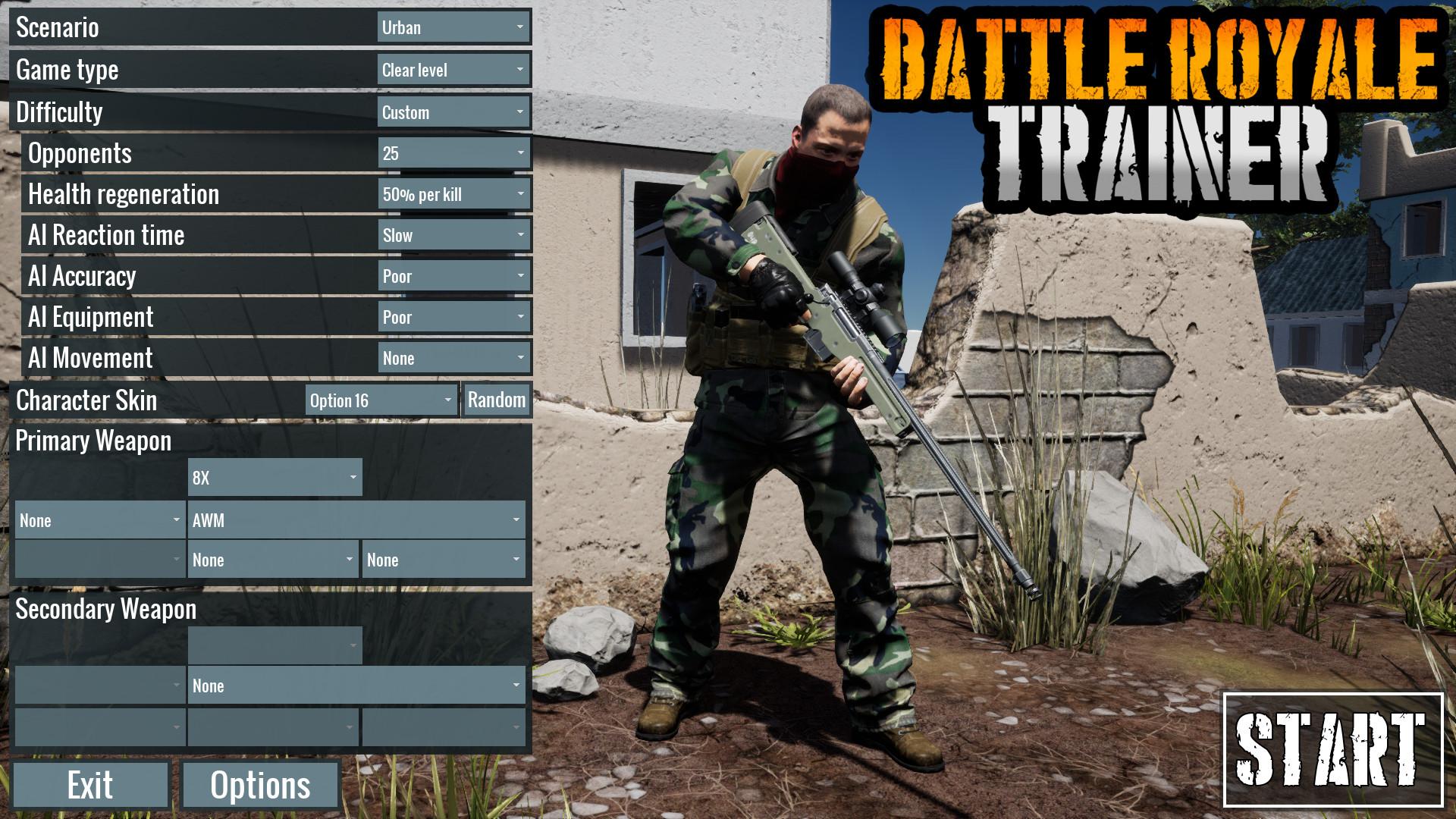 Battle Royale Trainer 05